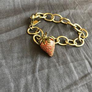 Jewelmint Strawberry Charm Bracelet